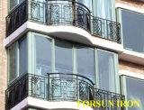 Hight Quality Top-Selling Wrought Iron Fence with Hand-Forged