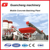 China Manufacture 25m3 Mobile Concrete Batching Plant Price for Sale