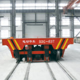 Factory Material Handling Motorized Transfer Vehicle Working Line