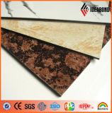 1220*2440*3mm Nano Self Clean Stone Look Aluminum Compositr Panel