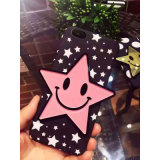 Wholesale Cute Cartoon Star PC Phone Case for iPhone 6/6p