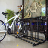 High-Capacity Floor Mounted Parking Bike Rack