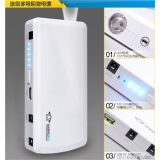 12000mAh Emergency Car Charger Mobile Power Bank Multi-Function
