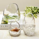 Wholesale Transparent Crystal Glass Vase /Flower Vase