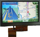 4.3 TFT LCD Display with Resistive Touch Screen