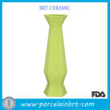 Wholesale Green Doric Ceramic Flower Vase