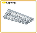 T8 Recessed Louver Grille Recessed Troffer Light for Commercial Lighting (ROT118)
