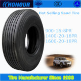 Honour sand tire 1400-20 nylon tyre bias