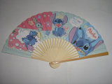 Bamboo Paper Folding Hand Fan for Promotion