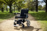 FDA 10 Inch Light Weight Brushlesss Foldable Electric Wheelchair