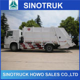 Cnhtc Sino Truck HOWO 336HP 4X2 Compressed Compactor Garbage Truck
