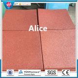 Recycle Rubber Tile/Rubber Floor Tile/Gym Rubber Tile