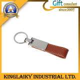 Promotional Leather Keyring with Customized Logo (KKR-030)