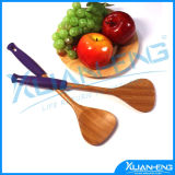Burnished Bamboo Rice Paddle, 10-Inch