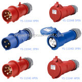 3pin/5pin 220V/110V Industrial Plug and Socket, Male Plug, Female Plug