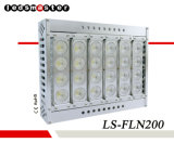 Direct Heat Path Outdoor 200W 140lm/W LED Flood Light