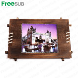 Freesub Sublimation Stone Rock Slate Wooden Frame 30*28cm (SH-40)