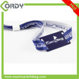 QR Code NTG213 NFC tag Woven wristband for event tickets