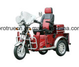 Tricycle for Handicapped with Four Stroke