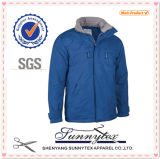 Unisex Design Hooded Waterproof Windbreaker Coat Jacket