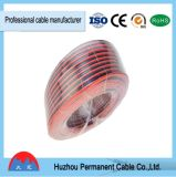 Transparent Speaker Cable 12AWG, Parallel Twin Cable