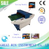 Micro-Computer Iron Nail Detecting Testing Machine/Needle Detector/Metal Detector and Fabric Inspection Machine (GW-058A)