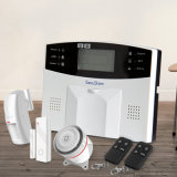 GSM Alarm System With LCD Screen / Keypads / Intercom Speaker