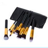 10 PCS Foundation Makeup Brush with PU Bag