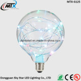 Retro Vintage Globe Starry Sky Light 2W LED Bulb Edison Colorful Lamp E27 Screw s46