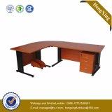 Portable Bookcase Desk Wooden Storage Computer Table (HX-CK02)