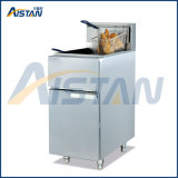 GF23G Gas Temperature-Controlled Fryer with Three Heating Tubes
