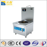Stainless Steel Induction Flat Soup Cooker with Free 500mm Soup Bucket