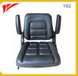 Universal Replacement Fold Down Black Forklift Seat for After Market