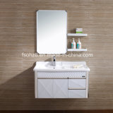 2017 Modern Stainless Steel Bathroom Vanity with Shelf