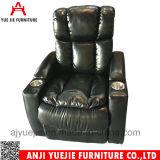 Comfortable Black PU Leather VIP Sofa Chair Yj1888