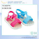 Factory Cheap Children Girls Heart Printing Kids Sandal