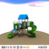 Plastic and Steel Material Outdoor Layground Game Group