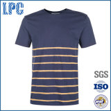 OEM Custom Cotton Breathable Casual Fashion Tripe T Shirt