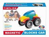Hot Seller Magnet Block Puzzle Car for Kids