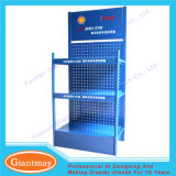 Retail Store Custom Metal Lubricant Oil Display Rack