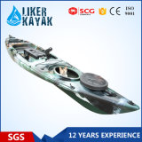 One Person Fishing Boat PE Material 4.3m Length with Special Accessories
