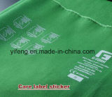 Heat Transfer Sticker Neck Size Tongue Content Care Labels Printing for Garment / Shoes
