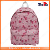 Glitter Allover Pattern Printed Cute School Bags for Girls
