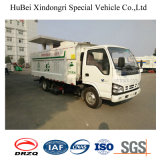 4cbm Isuzu Qingling Road Sweeper Dust Suction Truck