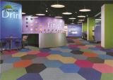 PP Cut Pile Commercial Carpet Tiles for Offices Building Bitumen Backing