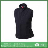 Women′s Softshell Vest in Black