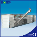 Integrated Mobile Screw Sludge Dewatering Machine for Waste Water Treatment