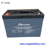 Rechargeable Solar Gel Battery 12V100ah for High Temperature Power Use