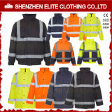 Wholesale Factory Electrician Mechanic Yellow Reflective Workwear (ELTHJC-459)