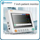 New - 7 Inch Multi Parameters Patient Monitor for Handheld Operation